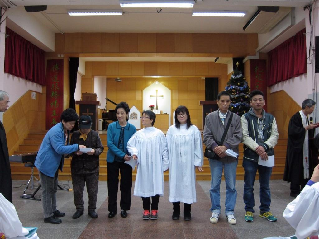 2015年12月洗禮